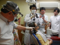 顎関節症のライブ実習コース3